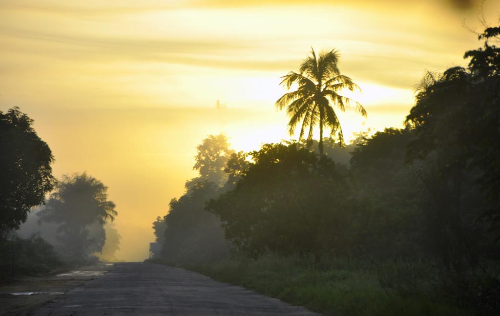 Oost-West-Verbinding, Surinam